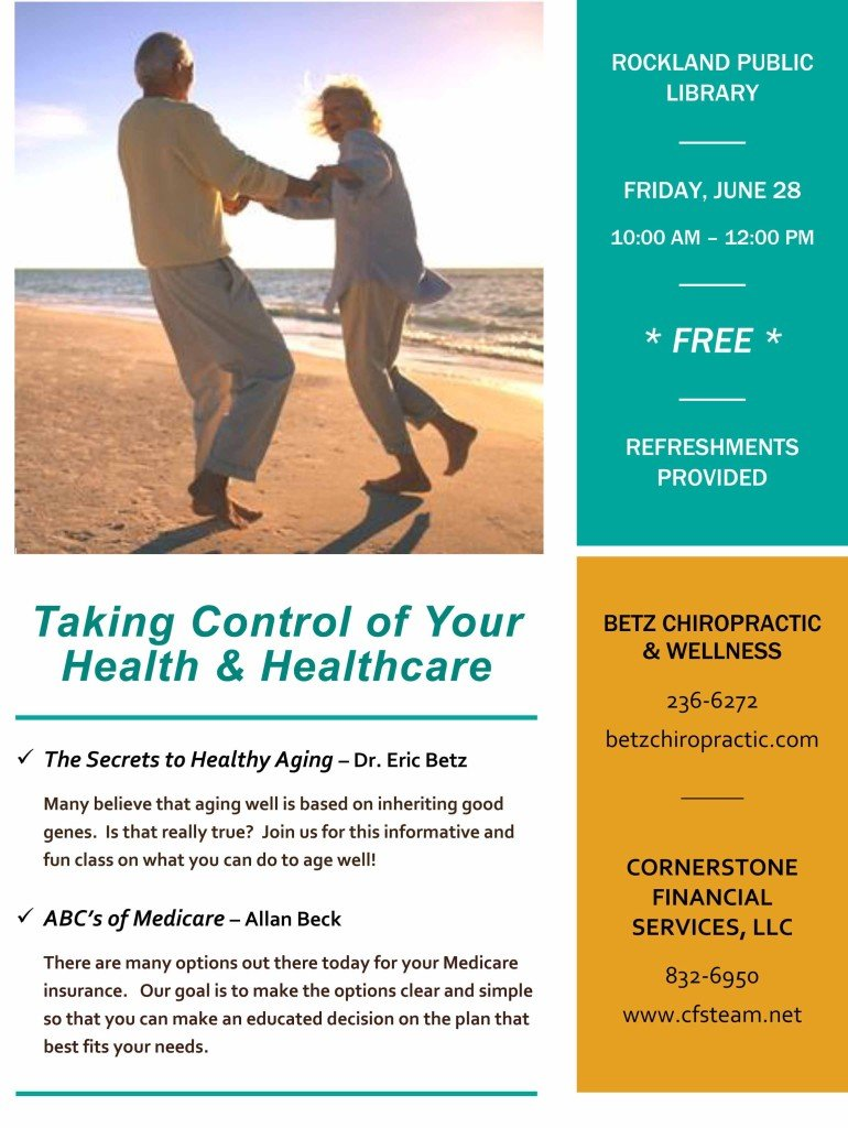 Taking Control of Your Health & Healthcare